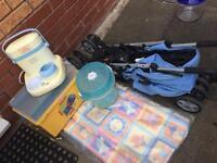 Stroller & baby things
