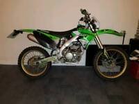 Kawasaki kx250f 62plate road legal crosser dirt bike motobike