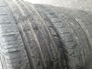 4 PNEUS ETE CONTINENTAL 215 70 16  - 4 SUMMER TIRES