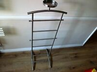 two clothes stands one black one silver £5 each very good condition
