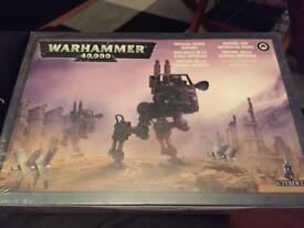 War hammer 40k imperial guard sentinel (new, wrapped)
