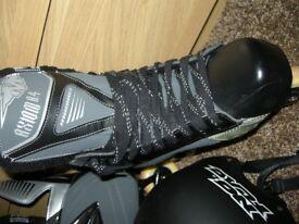 Graf Ultra G70 Ice Hockey Skates/Boots - Size 10.5
