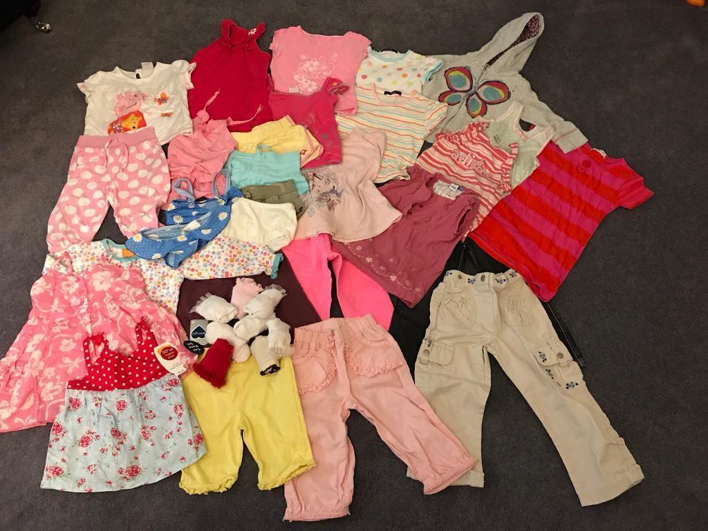 Girls Bundle Age 2-3