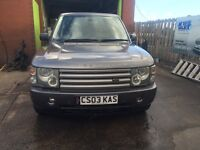 £ 4199 Land Rover Range Rover 3.0 Td6 Vogue 5dr full service history