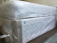 Brand New Double Divan bed with semi Orthopedic Mattress