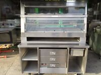 HENNY PENNY HCW5 HOT CABINET +SPEED PACT TABLE +BUN WARMER FAST FOOD CATERING COMMERCIAL RESTAURANT