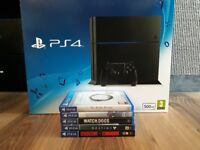 Boxed PS4 and some games