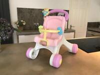 Fisher Price baby walker./push chair.