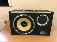VIBE CBR10 evolution.V2 1300 Watt subwoofer with full 8GA wiring kit