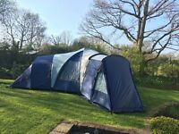 Excellent Vango Diablo XP 600 tent plus carpet and footprint - sleeps 6!