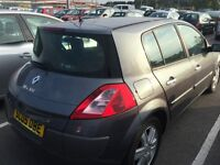 2005 1.4 Renault megane tidy car priced too sell