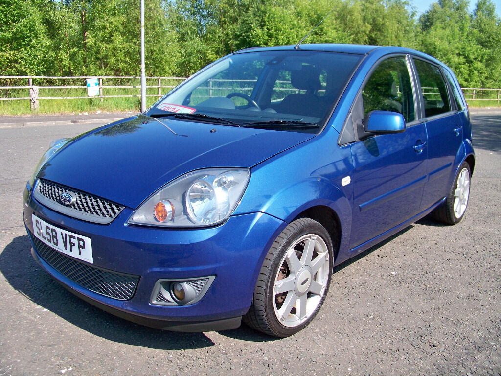 ford fiesta 1 2 zetec blue edition 2008 58 like fiesta. Black Bedroom Furniture Sets. Home Design Ideas