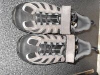 Used Mountain Bike Shoes size 8 with Cleats