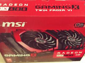 MSI Radeon RX 480 Gaming X (8GB) Graphics card