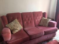 3 piece suite (3 seater settee and 2 armchairs)