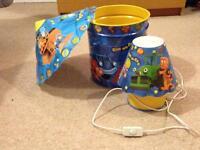 Bob The Builder bedroom accessories