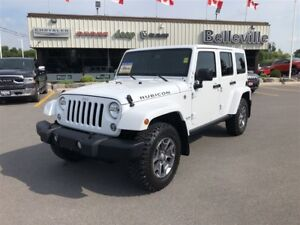 2017 Jeep Wrangler Unlimited Rubicon-Navigation-Dual Tops