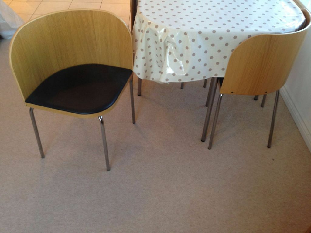 Dining Table and 4 chairs IKEA Fusion in Ealing London  : 86 from www.gumtree.com size 1024 x 768 jpeg 71kB