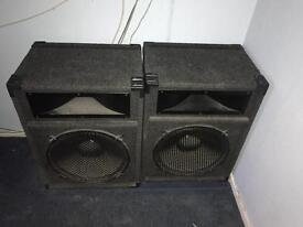 Large speakers high out put