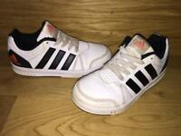 Adidas boys trainers in size UK12.5
