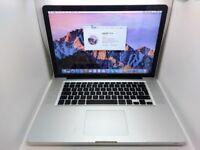 Macbook 15 inch mac pro Intel 2.2ghz Quad Core i7 processor late 2011 -2012 laptop