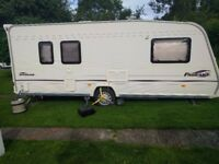 Bailey Pageant Auvergne 5 berth with motor mover and awning 2005