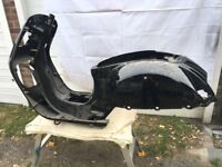 New old stock genuine Piaggio Vespa GTS 250ie. Frame / Chassis.
