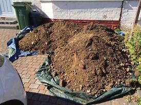 2 tons of good soil - FREE