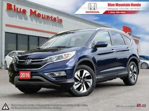 2016 Honda CR-V Touring-NAVIATION/LEATHER/AWD