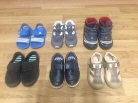 Big bundle boys shoes size 8 and 8,5