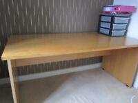 Wide (160cm), Heavy Office Desk - FURNITURE