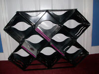Large Black Plastic CD Rack