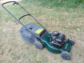 Petrol Mower Hayter Serviced