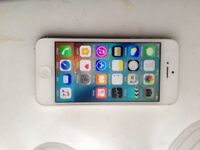 IPHONE 5, WHITE, 16GB, UNLOCKED TO ALL NETWORK