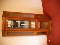 Display cabinet with 5 shelves