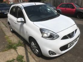 Nissan Micra 2014 1.2 Acenta 5 door Automatic only 2000 miles