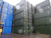 NEW 20FT SHIPPING CONTAINERS FOR SALE (GREEN) £1875 + VAT - SOUTH EAST/HOME COUNTIES