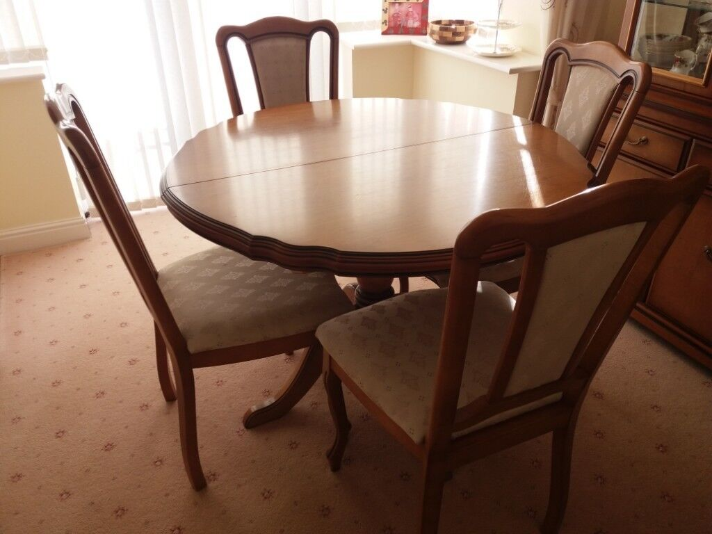 Incredible John Coyle Cherry Dining Furniture And Unit In Scunthorpe Lincolnshire Gumtree Bralicious Painted Fabric Chair Ideas Braliciousco