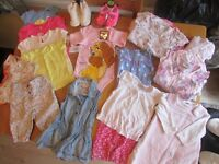 GIRLS BABY CLOTHES AGE 6-9mths - 20 ITEMS IN TOTAL!!!