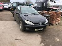 breaking for parts cheap peugeot 206 1.4 2004