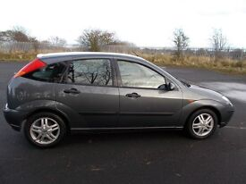 54) FORD FOCUS 1.6 ZETEC 5dr GREY MET JULY 17 MOT SERVICE HISTORY 8 STAMPS LOOKS & DRIVES VERY WELL