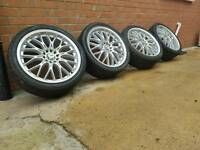"ONE DAY PRICE 18"" BMW VW AUDI SEAT SKODA TOYOTA ALLOY WHEELS"