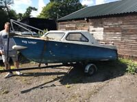 14 or 16ft boat hull