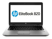 "NEW HP EliteBook 820 G2 12.5"" 4GB Intel Core i5-5200U 500GB HDD Win 7 Pro Laptop"