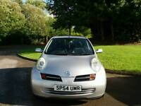 NISSAN MICRA 2004 58000 WARRANTED MILES 2LADY OWNERS 9SERVICES MOT TILL30/9/2018 EXCELLENT CONDITION