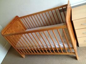 Nice Wood Baby Bed on Sale!