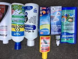 Lot of items for fish tank/aquarium water conditioner CO2 booster and more