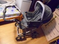 Silver Cross Pram/Pushchair with carseat