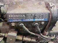 Camper / rv / race lorry Honda genarator ev3610