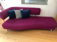 Elegant Heals chaise long sofa bed